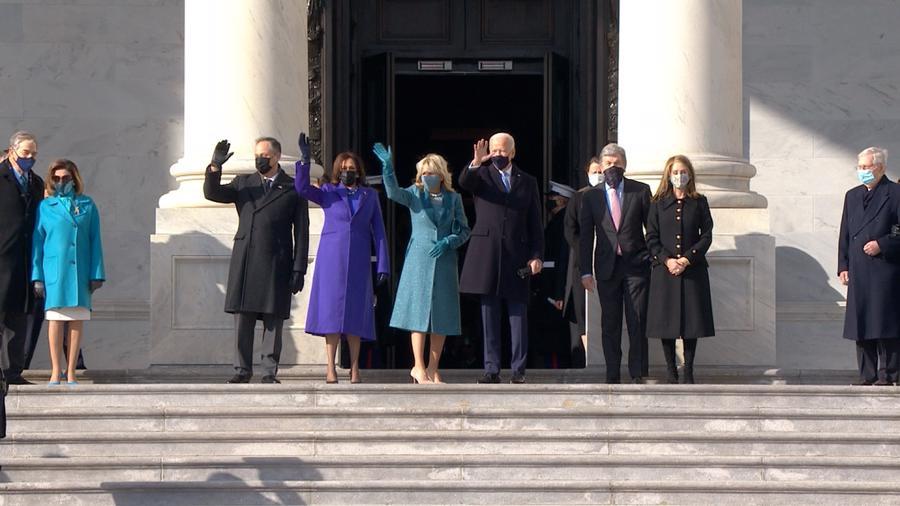 Toàn cảnh lễ nhậm chức đặc biệt của tân Tổng thống Mỹ Joe Biden - Ảnh 2