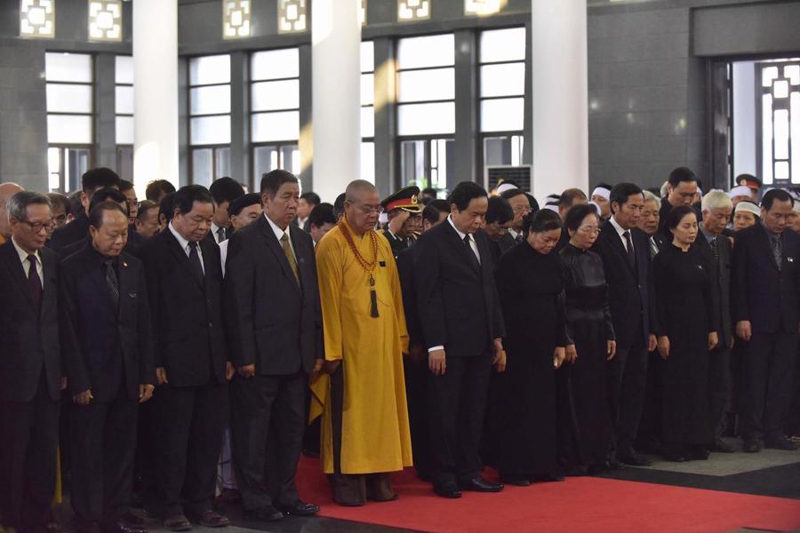 Hình ảnh lễ viếng nguyên Tổng bí thư Đỗ Mười - Ảnh 7.