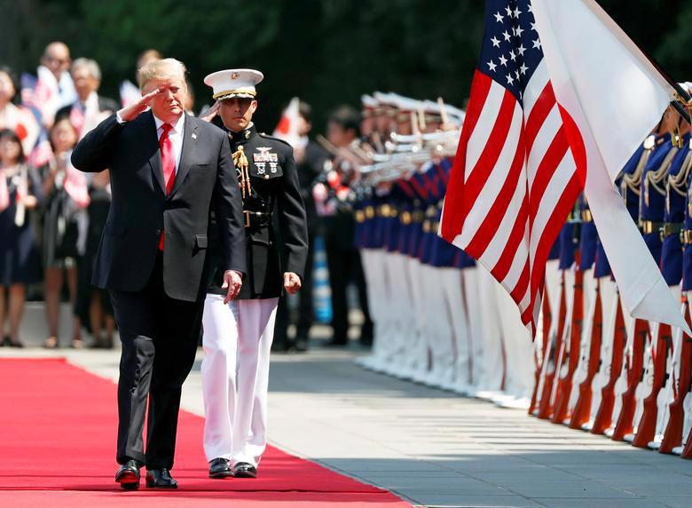 Nhật hoàng mở quốc yến chiêu đãi Tổng thống Trump - Ảnh 12.