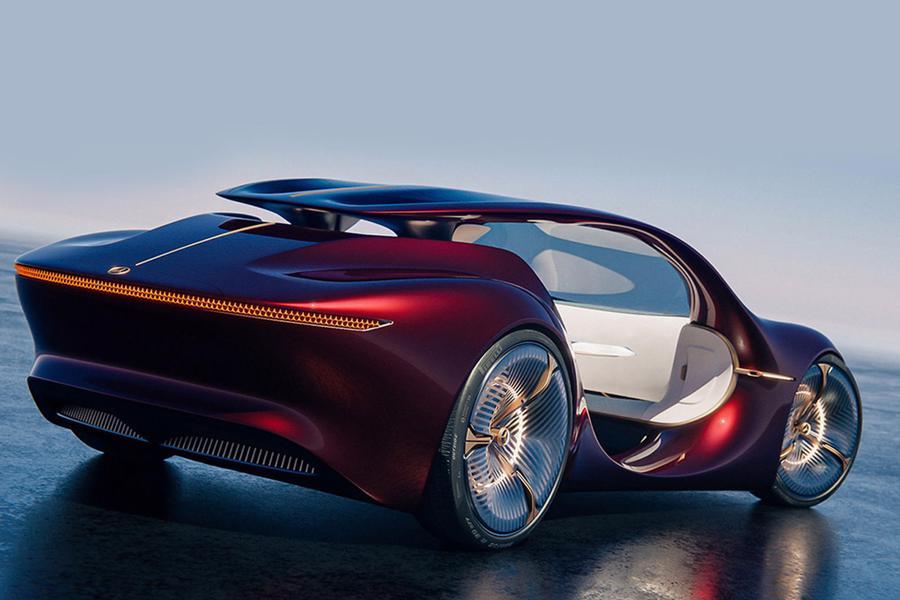 Siêu xe tự lái tương lai của Mercedes-Benz - Ảnh 11.