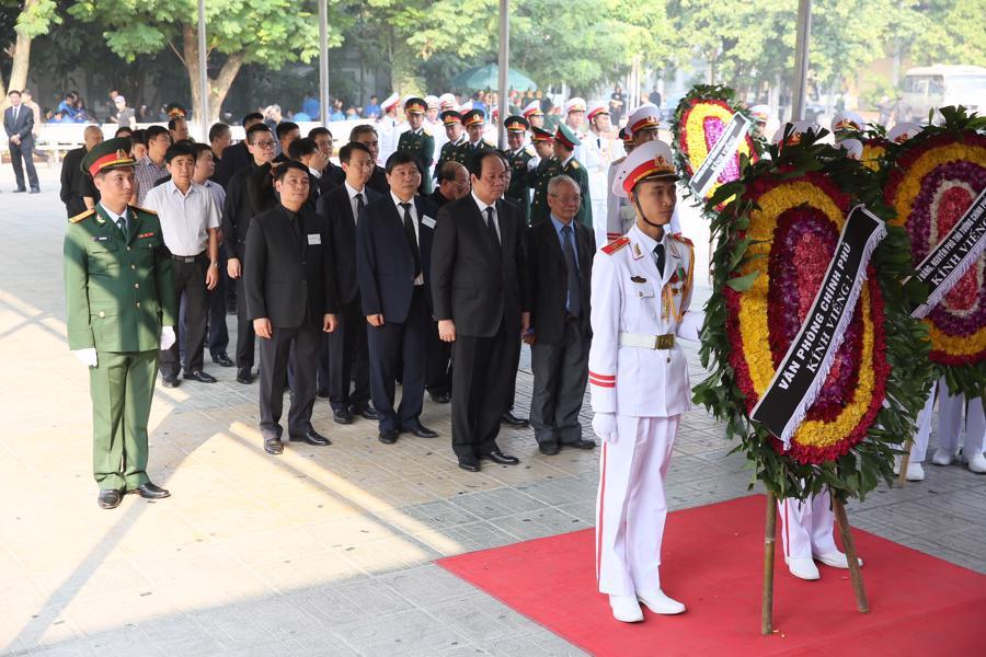 Hình ảnh lễ viếng nguyên Tổng bí thư Đỗ Mười - Ảnh 10.