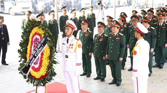 Hình ảnh lễ viếng nguyên Tổng bí thư Đỗ Mười - Ảnh 8.