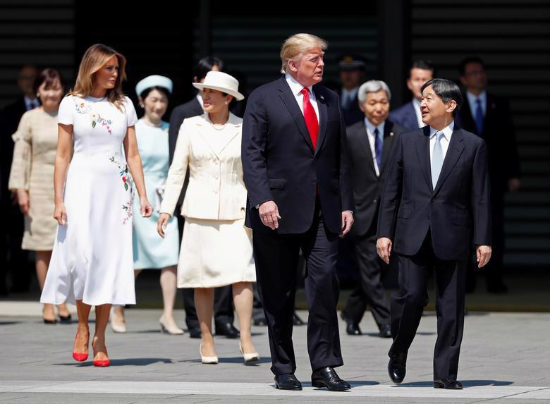 Nhật hoàng mở quốc yến chiêu đãi Tổng thống Trump - Ảnh 13.
