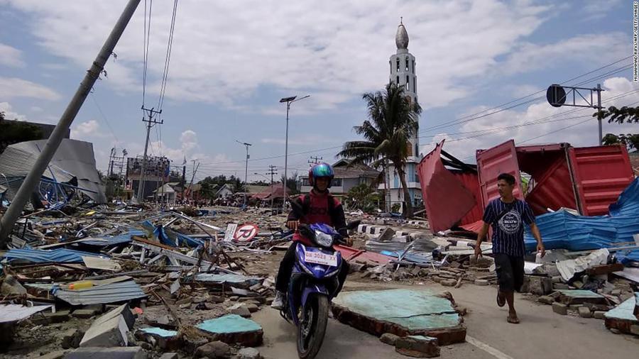 Động đất, sóng thần tại Indonesia: Hàng nghìn người có thể đã thiệt mạng - Ảnh 13.