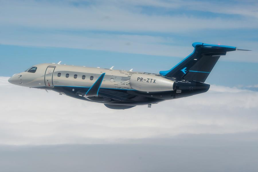 Máy bay cá nhân với nội thất lấy cảm hứng từ bãi biển Brazil - Ảnh 13.