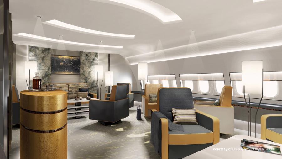 Bên trong máy bay cá nhân 400 triệu USD của Boeing - Ảnh 11.