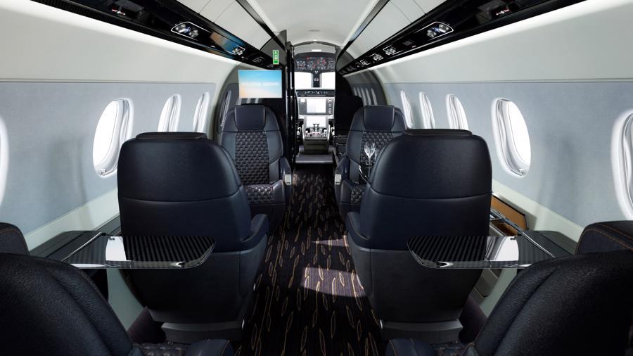 Máy bay cá nhân với nội thất lấy cảm hứng từ bãi biển Brazil - Ảnh 14.