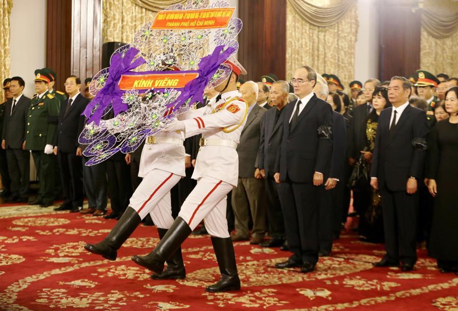 Hình ảnh lễ viếng nguyên Tổng bí thư Đỗ Mười - Ảnh 11.