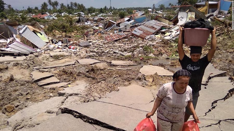 Động đất, sóng thần tại Indonesia: Hàng nghìn người có thể đã thiệt mạng - Ảnh 15.