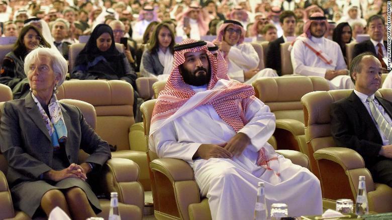 Khai mạc hội nghị đầu tư Davos trên sa mạc tại Saudi Arabia - Ảnh 1.