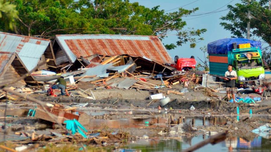 Động đất, sóng thần tại Indonesia: Hàng nghìn người có thể đã thiệt mạng - Ảnh 16.