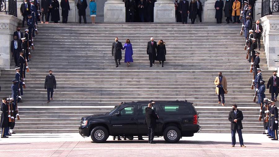 Toàn cảnh lễ nhậm chức của tân Tổng thống Mỹ Joe Biden - Ảnh 19.
