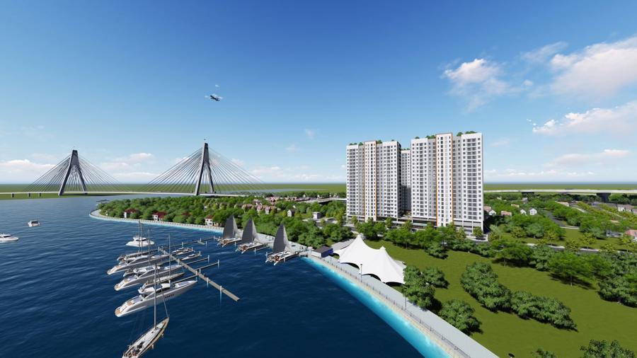 Sắp ra mắt 300 căn hộ giá từ 700 triệu ngay trạm dừng Metro số 1 - Ảnh 1.