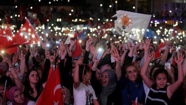 Ông Erdogan tuyên bố tái đắc cử Tổng thống Thổ Nhĩ Kỳ - Ảnh 1.