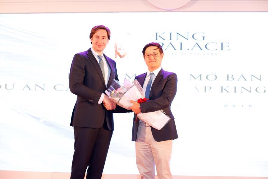 Dự án King Palace ra mắt thành công - Ảnh 1.