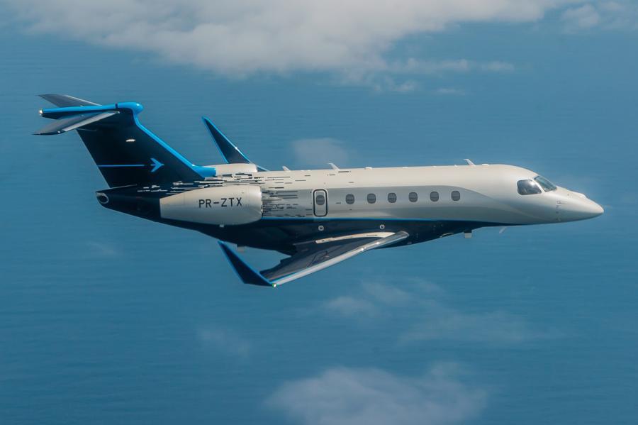 Máy bay cá nhân với nội thất lấy cảm hứng từ bãi biển Brazil - Ảnh 2.