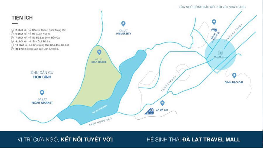 Đầu năm 2019, Đà Lạt sẽ có trung tâm thương mại chuyên biệt cho du khách - Ảnh 1.
