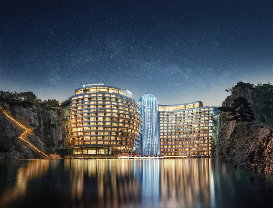 Khai trương khách sạn dưới lòng đất đầu tiên trên thế giới - Ảnh 2.