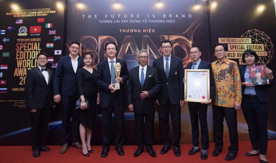 """Ciputra Hà Nội được vinh danh tại giải thưởng """"The BrandLaureate"""" - Ảnh 1."""