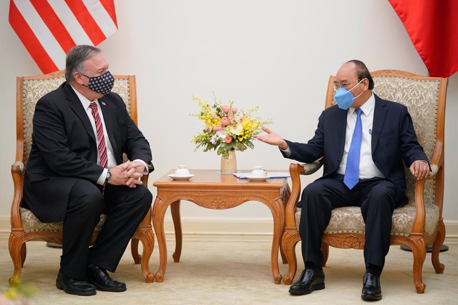 Ngoại trưởng Mỹ Michael Pompeo thăm chính thức Việt Nam - Ảnh 2.