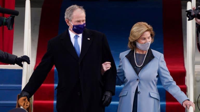 Toàn cảnh lễ nhậm chức đặc biệt của tân Tổng thống Mỹ Joe Biden - Ảnh 4