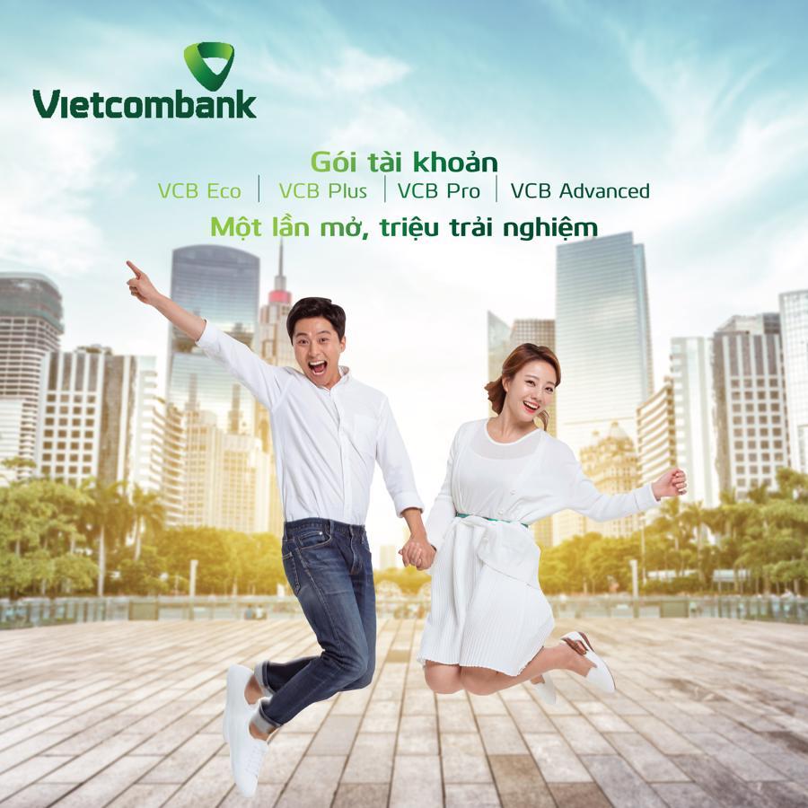 Vietcombank ra mắt 4 gói tài khoản đặc biệt vượt trội dành cho khách hàng cá nhân - Ảnh 1.