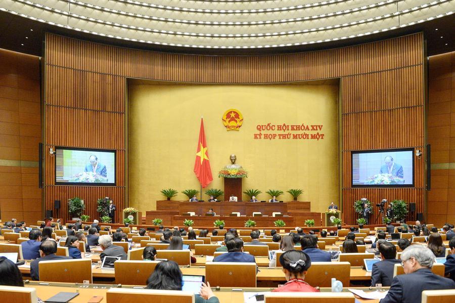 """Thủ tướng: """"Con tàu tăng trưởng Việt Nam hướng tới chân trời mới với cơ đồ mới"""" - Ảnh 1."""