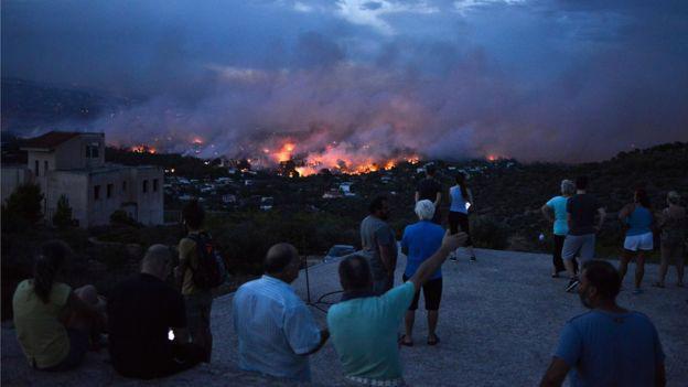Cháy rừng dữ dội gần thủ đô Hy Lạp, ít nhất 20 người thiệt mạng - Ảnh 3.