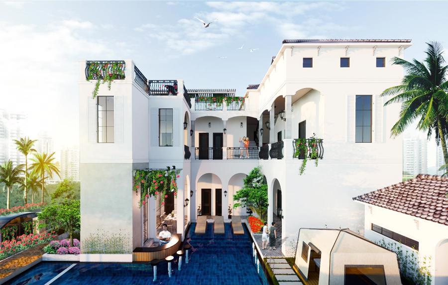 Xuất hiện biệt thự 11 phòng giá 7 tỷ trên đồi ngắm hoàng hôn đẹp bậc nhất Phan Thiết - Ảnh 2.