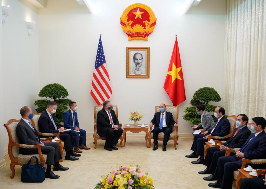 Thủ tướng tiếp Ngoại trưởng Mỹ Michael Pompeo - Ảnh 1.