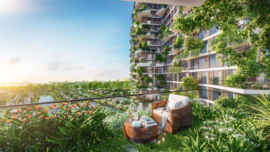 Kỳ công vận hành 400 vườn trên mây của tháp xanh cao nhất Việt Nam tại Ecopark - Ảnh 3.