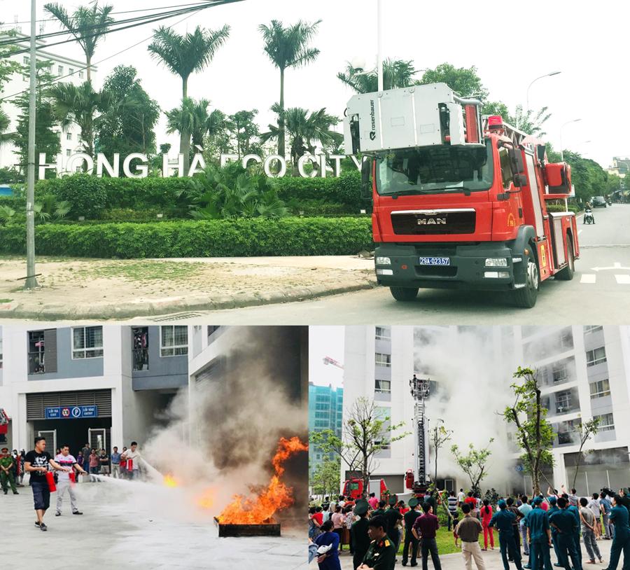 Chung cư Hồng Hà Eco City tổ chức thành công tập huấn phòng cháy chữa cháy - Ảnh 1.