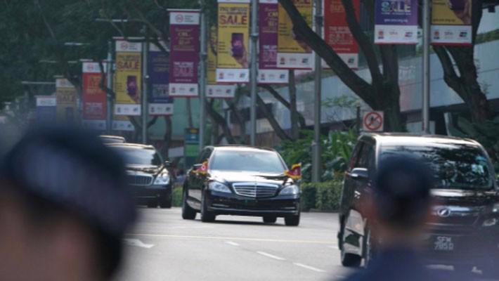 Những hình ảnh đầu tiên của ông Trump và ông Kim Jong Un ở Singapore - Ảnh 4.