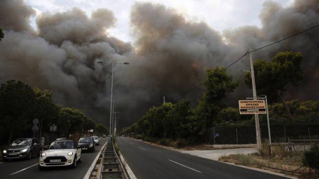 Cháy rừng dữ dội gần thủ đô Hy Lạp, ít nhất 20 người thiệt mạng - Ảnh 2.