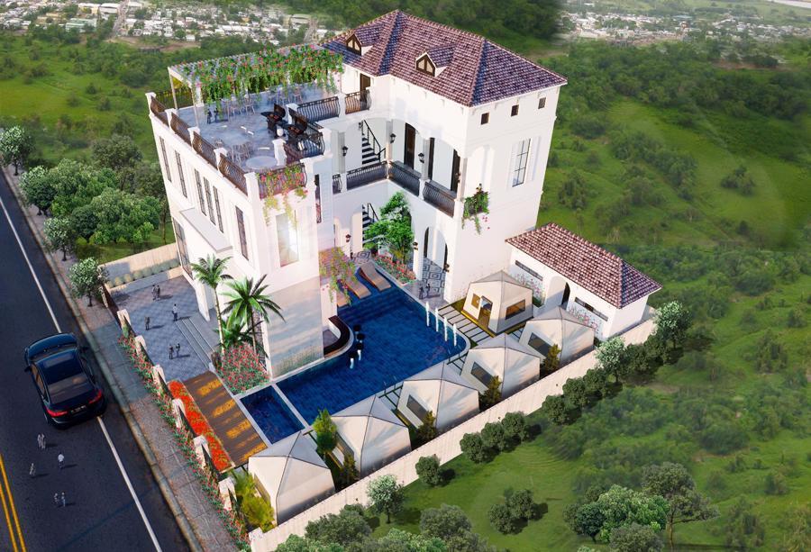 Xuất hiện biệt thự 11 phòng giá 7 tỷ trên đồi ngắm hoàng hôn đẹp bậc nhất Phan Thiết - Ảnh 3.