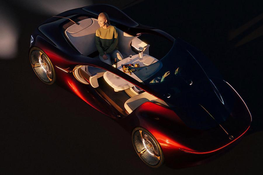 Siêu xe tự lái tương lai của Mercedes-Benz - Ảnh 5.