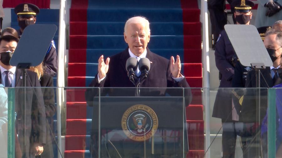Toàn cảnh lễ nhậm chức của tân Tổng thống Mỹ Joe Biden - Ảnh 13.