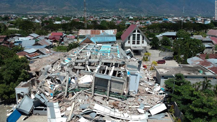 Động đất, sóng thần tại Indonesia: Hàng nghìn người có thể đã thiệt mạng - Ảnh 7.