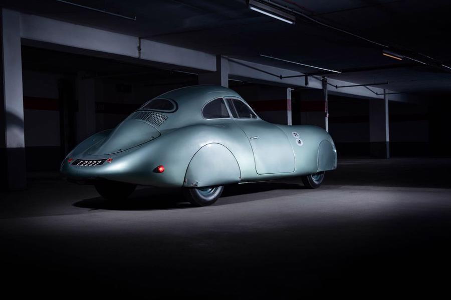 Xe cổ Porsche Type 64 được bán đấu giá, dự kiến thu về tới 20 triệu USD - Ảnh 6.