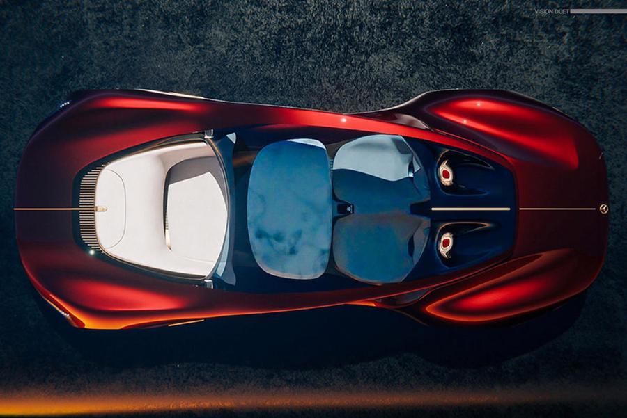 Siêu xe tự lái tương lai của Mercedes-Benz - Ảnh 6.