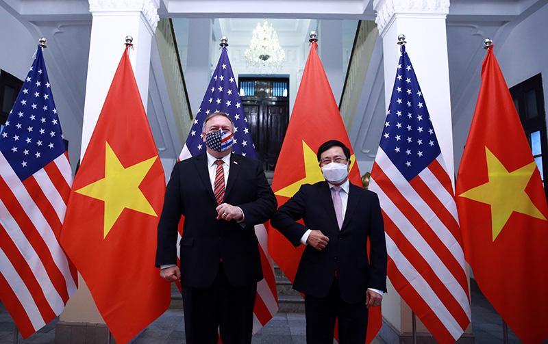 Ngoại trưởng Mỹ Michael Pompeo thăm chính thức Việt Nam - Ảnh 5.