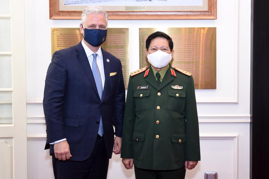 Cố vấn An ninh Quốc gia Mỹ Robert O'Brien: Quan hệ Việt - Mỹ chưa bao giờ mạnh như hiện nay - Ảnh 6.