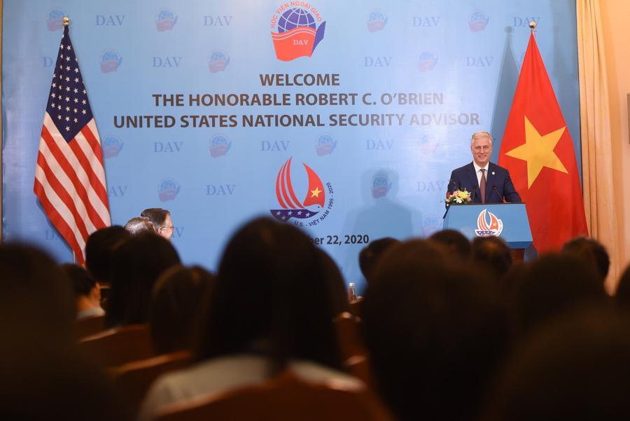 Cố vấn An ninh Quốc gia Mỹ Robert O'Brien: Quan hệ Việt - Mỹ chưa bao giờ mạnh như hiện nay - Ảnh 11.