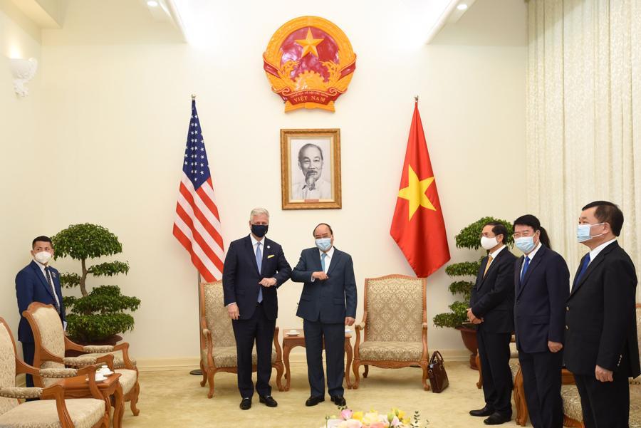 Cố vấn An ninh Quốc gia Mỹ Robert O'Brien: Quan hệ Việt - Mỹ chưa bao giờ mạnh như hiện nay - Ảnh 3.