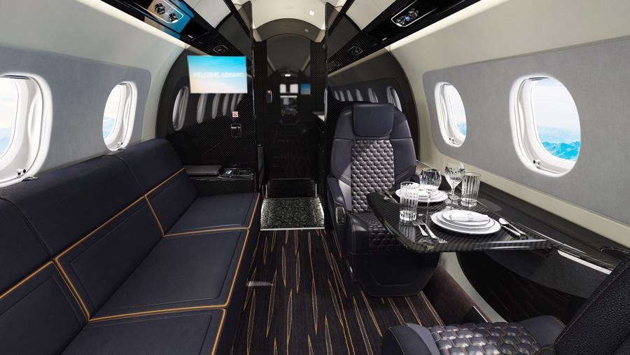 Máy bay cá nhân với nội thất lấy cảm hứng từ bãi biển Brazil - Ảnh 5.