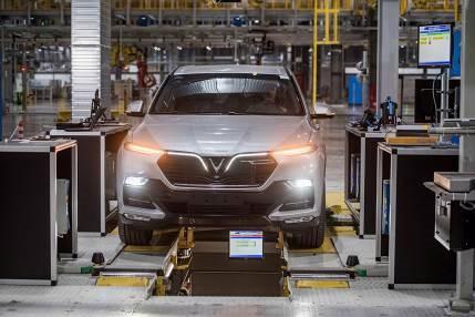 Bên trong nhà máy sản xuất 38 xe ô tô/giờ của VinFast - Ảnh 6.