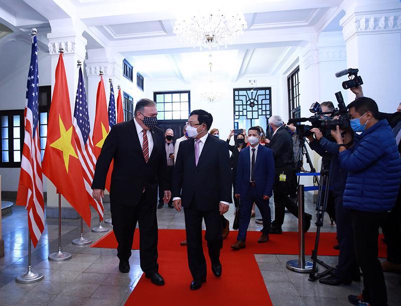 Ngoại trưởng Mỹ Michael Pompeo thăm chính thức Việt Nam - Ảnh 6.