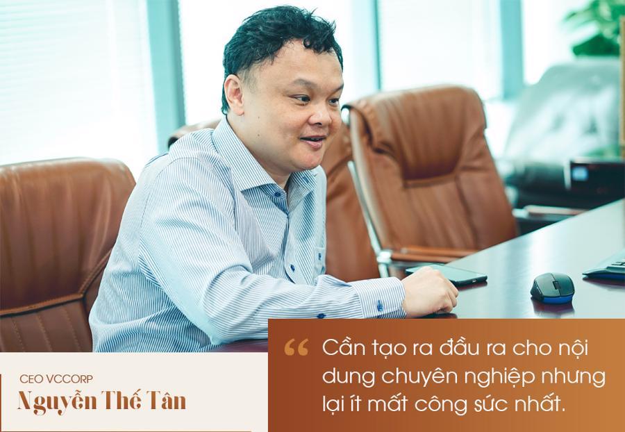 """CEO Nguyễn Thế Tân: """"Mạng xã hội Lotus là cuộc chơi tất tay của VCCorp"""" - Ảnh 4"""