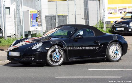 Porsche Boxster 2012, những hình ảnh đầu tiên - Ảnh 7