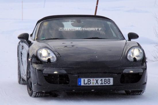 Porsche Boxster 2012, những hình ảnh đầu tiên - Ảnh 1